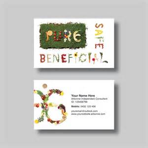 arbonne business cards arbonne business card words digital design