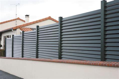 cloture jardin aluminium clotures vert equip