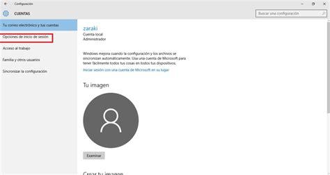 quitar imagenes cuenta windows 10 c 243 mo eliminar la contrase 241 a de usuario en windows 10