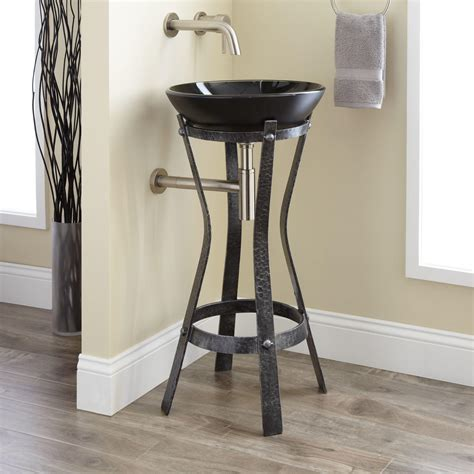 bathroom sink stand rouleau wrought iron vessel sink stand bathroom