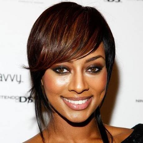 what type of hair does keri hilson have asymmetrical black hairstyles