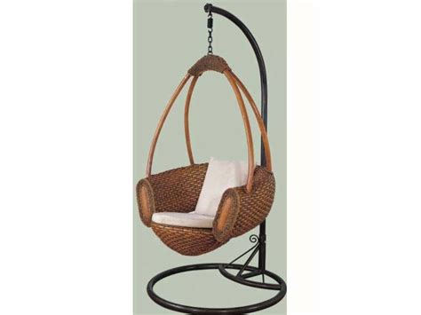 indoor chair swing china hanging indoor rattan swing chair yt 6110 7s