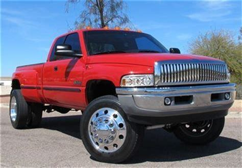 electric and cars manual 1999 dodge ram 3500 instrument cluster purchase used no reserve 1999 dodge ram 3500 laramie 5speed manual dually 4x4 az clean in