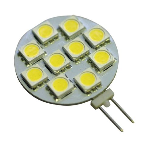 g4 2w 10smd 5050 led bulb light in warm white high intensity