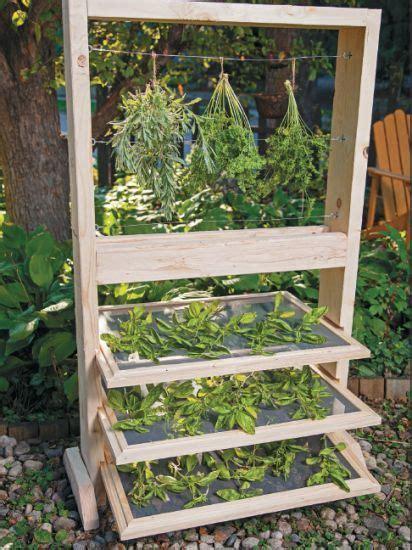 diy spice drying rack growing herbs this year build this diy herb drying rack