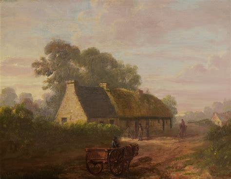 National Trust For Scotland Cottages by The Cottage 1816 Fleming National Trust For