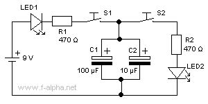 electrolytic capacitors must be connected into a circuit such that f alpha net experiment 8 parallel circuit ii