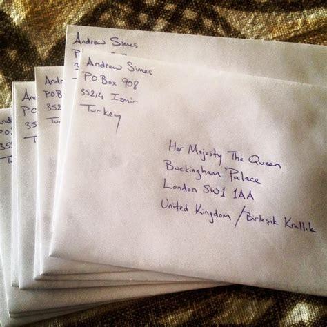 lettere da spedire elizabeth ii remercie l homme qui lui a envoy 233 une carte de