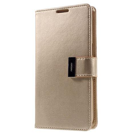 Flip Samsung Galaxy S8 Plus Mercury Goospery Leath Murah etui portefeuille mercury rich diary pour samsung galaxy s7 edge dor 233