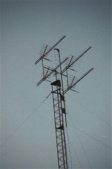 tv antenna tower sections erecting an antenna tower