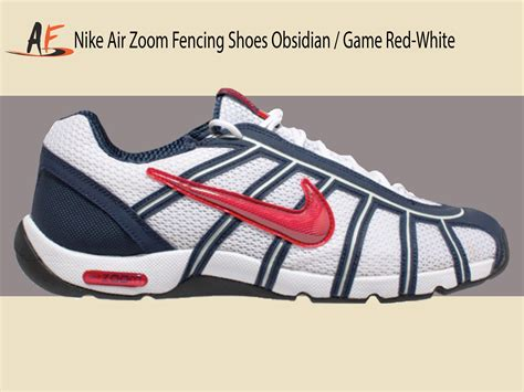 fencing shoes nike air zoom fencing shoes obsidian white black