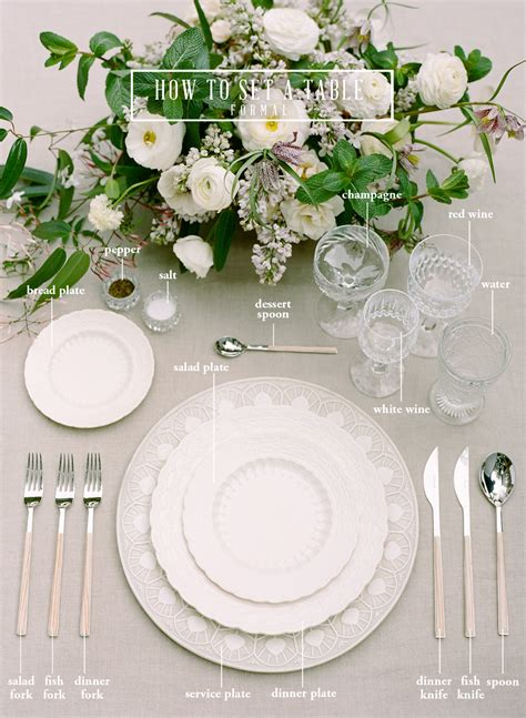 how to set a formal table how to set a table san francisco wedding photographer