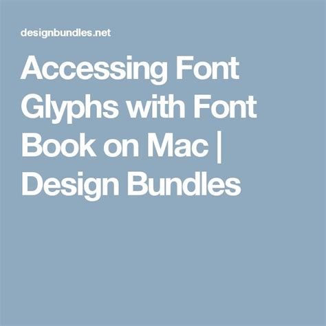 design font mac 29 best helpful technology tips images on pinterest