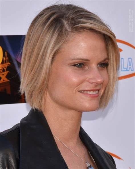 joelle carter haircut joelle carters bob haircut joelle carter s chin length bob