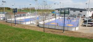 Backyard Greens Roller Hockey Courts For Indoor And Outdoor Play Sport Court