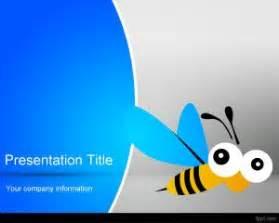 bee powerpoint template bee powerpoint template