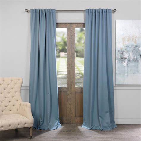 blackout curtains pair exclusive fabrics furnishings poseidon blue blackout