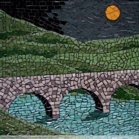 Home Interior Painting by Mosaico Claro De Luna Mosaicos Argentinos Artelista Com En
