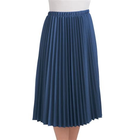 collections etc s pleated mid length midi skirt ebay