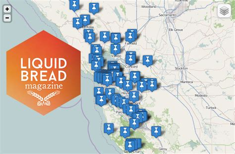 san francisco breweries map bay area brewery map and list