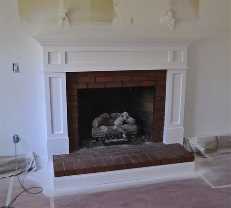 Update Fireplace by Sopo Cottage Fireplace And Mantle Update