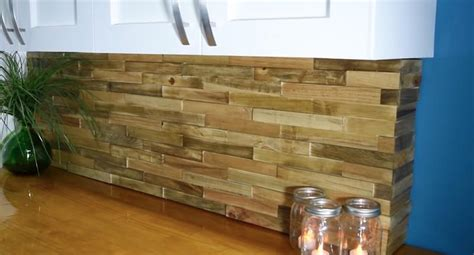 pallet wood backsplash chestha design pallet backsplash