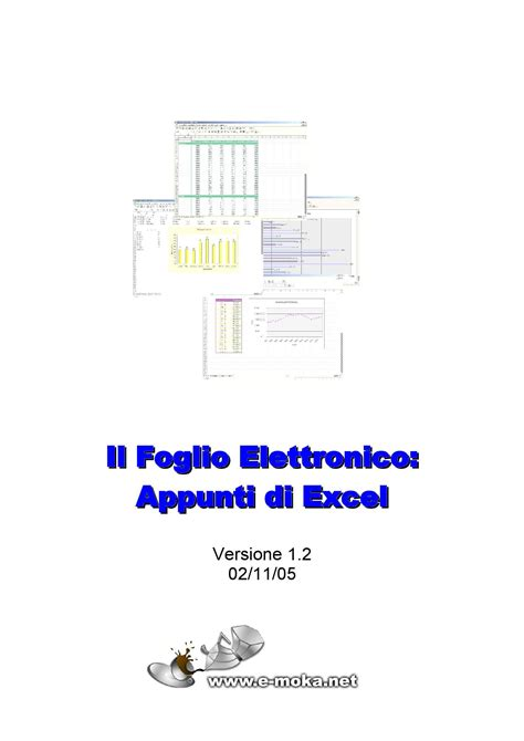 dispense excel informatica appunti di excel dispense