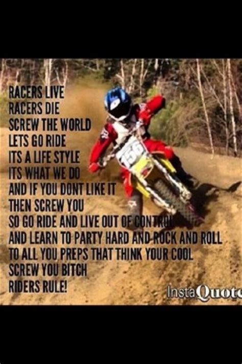 where can i ride my motocross bike dirt bike quotes quotesgram
