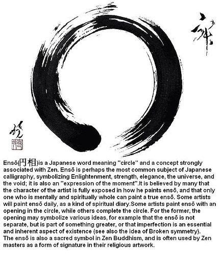 circle tattoo meaning japanese enso meaning tattoos strength