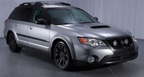 rare turbo manual 2008 subaru outback xt could be your next perfect daily carscoops