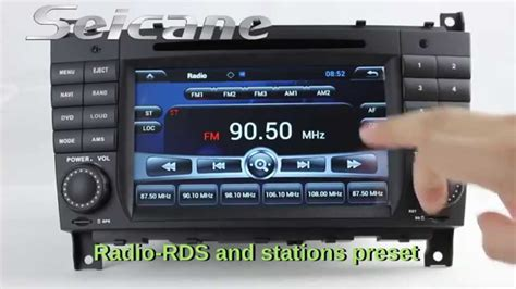 a radio apk android 7 0 2004 2007 mercedes w203 c220 c230 c280 radio stereo support 3d navigation apk