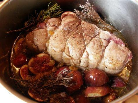 recette roti de porc aux figues fraiches