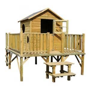 maisonette bois maisonnette bois sur pilotis tour de ronde cerland