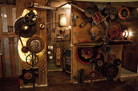 Surreal steampunk apartment 171 daily cool