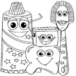 dental coloring pages exle picture of dental health coloring page color