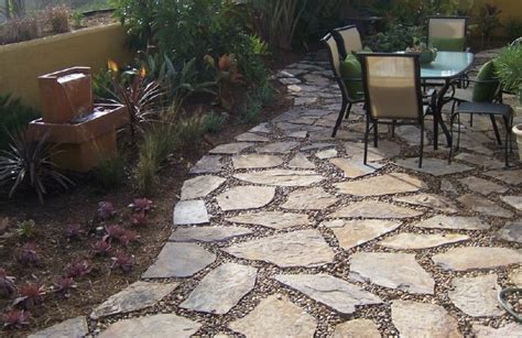 stone patio ideas backyard flagstone patio pictures and ideas