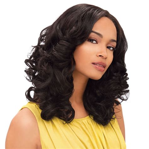 Top 20 Weave hairstyles you can do at home   yve style.com