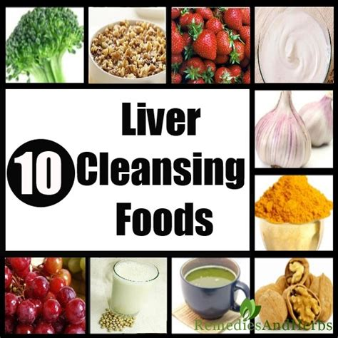 Best Home Detox Diet by 10 Best Liver Cleansing Foods Diy Home Remedies Kitchen