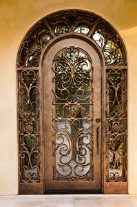 Ornate Front Doors Metallic Or Wooden Front Door Which One Do You Prefer