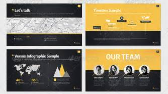 10 great portfolio powerpoint presentation templates
