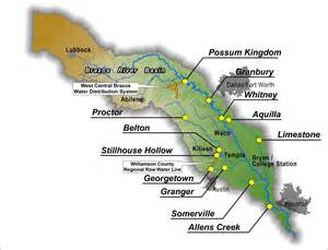 map of brazos river in the brazos river authority gt about us gt about the bra