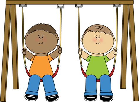 swing clipart kids on a swing clip art kids on a swing image
