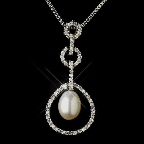 Brautschmuck Set Strass by Pearl Rhinestone Bridal Jewelry Set
