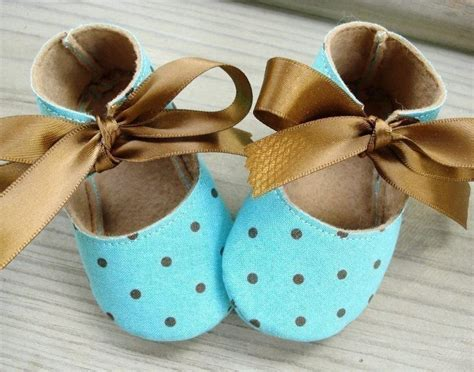 Handmade Baby Shoes Pattern - baby shoes booties sewing pattern basic shoes ten sizes