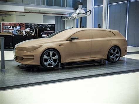 Kia Clay The Car Design Process The Kia Sportspace Kia Buzz