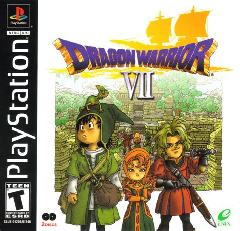 emuparadise dragon quest dragon warrior vii for playstation 2000 mobygames