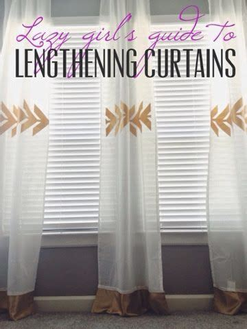 lengthen curtains without sewing 25 best ideas about lengthen curtains on pinterest