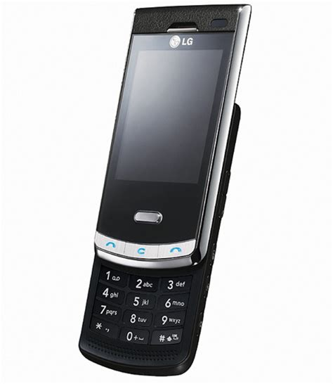 lg slide phone lg unveils 5 megapixel quot black label quot slider phone techeblog