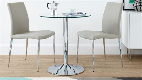 2 seater dining table set glass 2 seater dining set faux leather dining chair