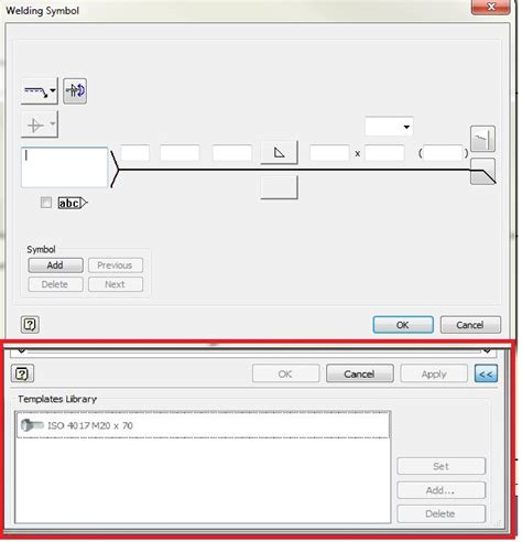 Autodesk Templates weldsymbol templates autodesk community